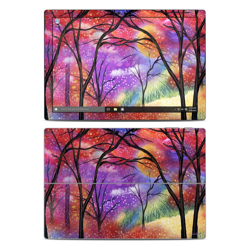 Moon Meadow Microsoft Surface Pro 4 Skin
