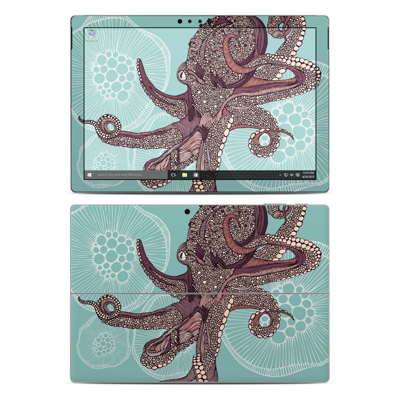 Octopus Bloom Microsoft Surface Pro 4 Skin