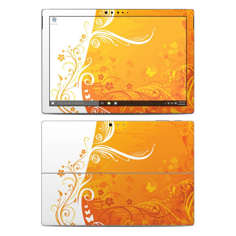 Orange Crush Microsoft Surface Pro 4 Skin