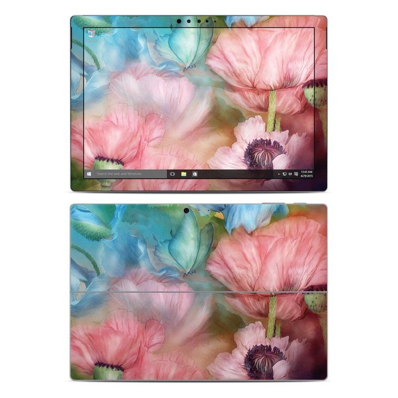 Poppy Garden Microsoft Surface Pro 4 Skin