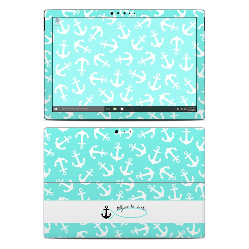 Refuse to Sink Microsoft Surface Pro 4 Skin