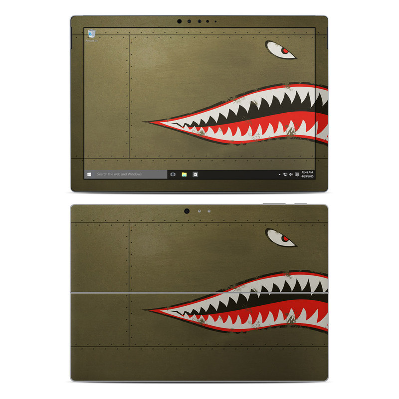 USAF Shark Microsoft Surface Pro 4 Skin