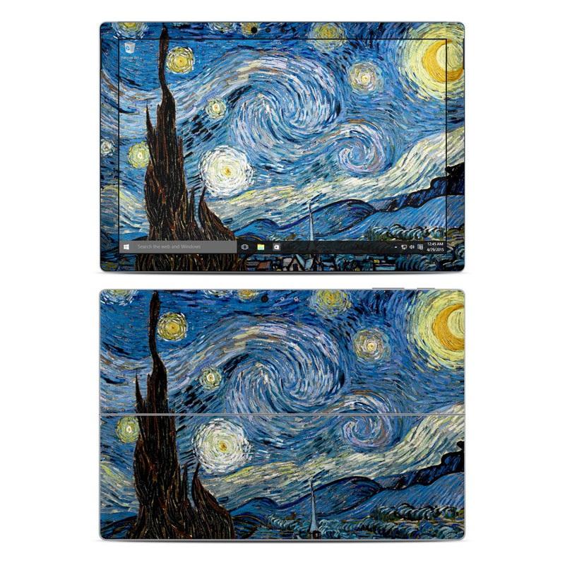 Starry Night Microsoft Surface Pro 4 Skin