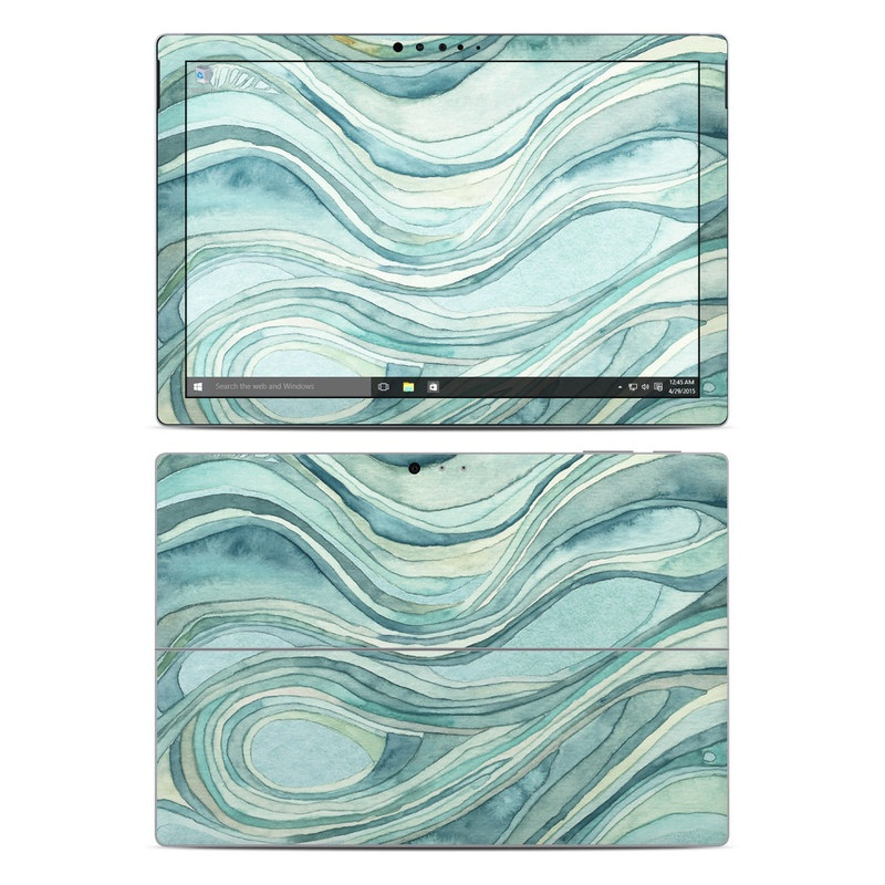 Waves Microsoft Surface Pro 4 Skin