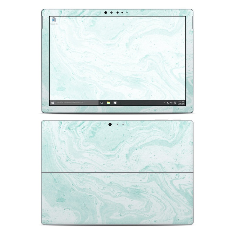 Winter Green Marble Microsoft Surface Pro 4 Skin