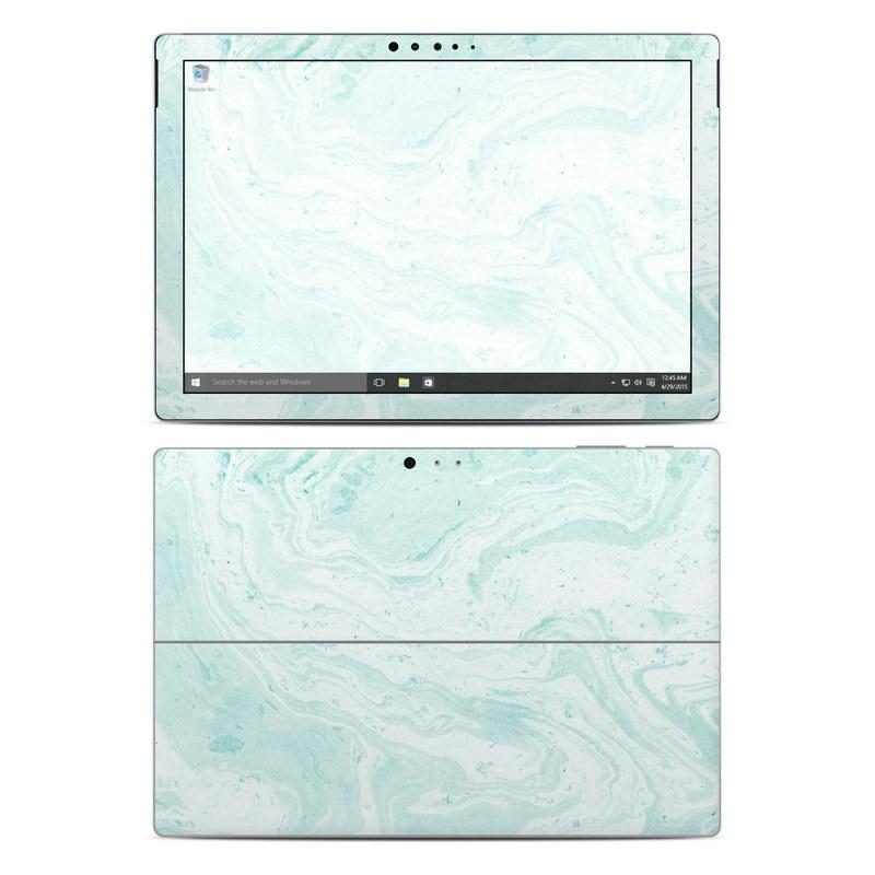 Winter Green Marble Microsoft Surface Pro 4 Skin