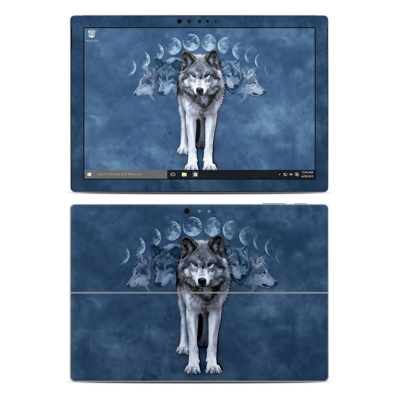 Wolf Cycle Microsoft Surface Pro 4 Skin