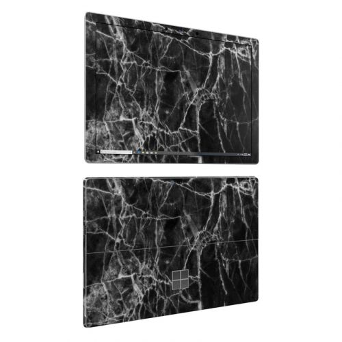Black Marble Microsoft Surface Pro 6 Skin