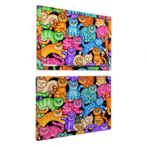 Colorful Kittens Microsoft Surface Pro 6 Skin