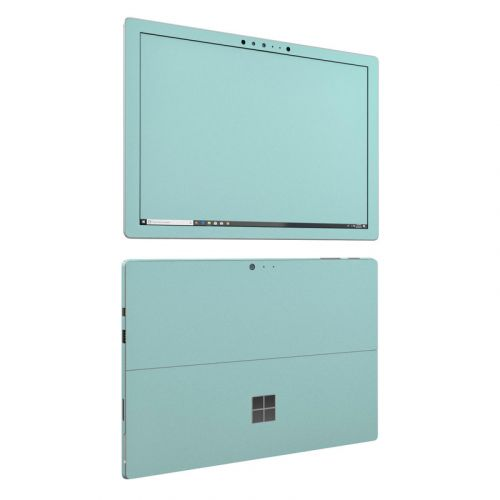 Solid State Mint Microsoft Surface Pro 6 Skin