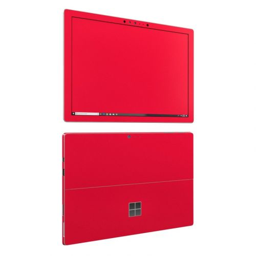 Solid State Red Microsoft Surface Pro 6 Skin