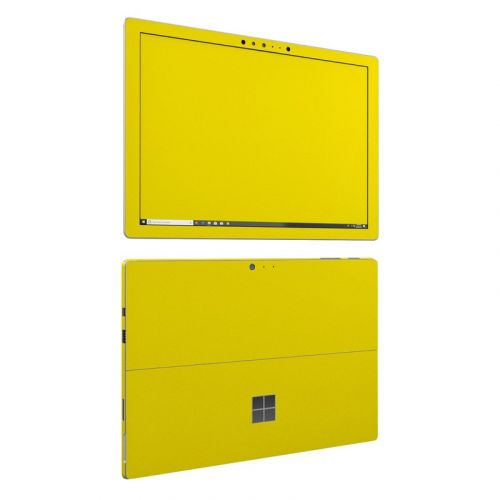 Solid State Yellow Microsoft Surface Pro 6 Skin