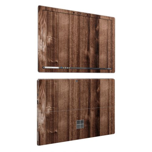 Stained Wood Microsoft Surface Pro 6 Skin