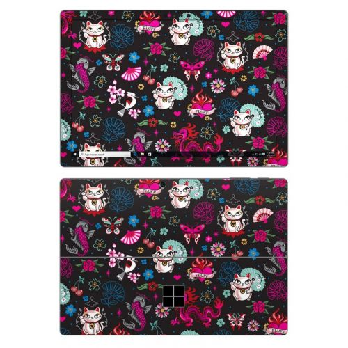 Geisha Kitty Microsoft Surface Pro 7 Skin