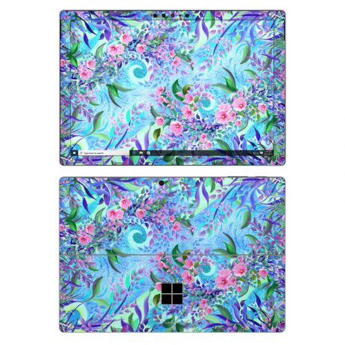 Lavender Flowers Microsoft Surface Pro 7 Skin