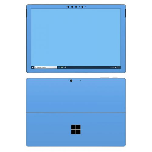 Solid State Blue Microsoft Surface Pro 7 Skin