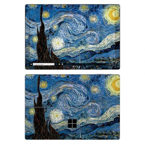 Starry Night Microsoft Surface Pro 7 Skin