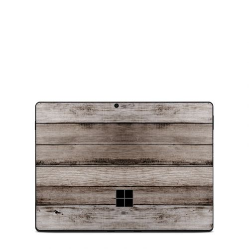Barn Wood Microsoft Surface Pro X Skin