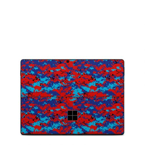 Digital Patriot Camo Microsoft Surface Pro X Skin