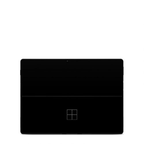 Solid State Black Microsoft Surface Pro X Skin