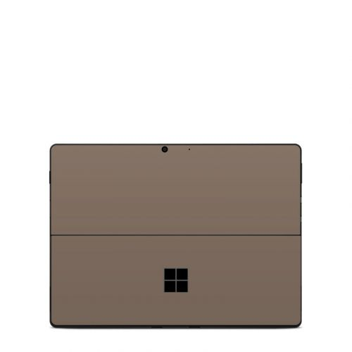 Solid State Flat Dark Earth Microsoft Surface Pro X Skin