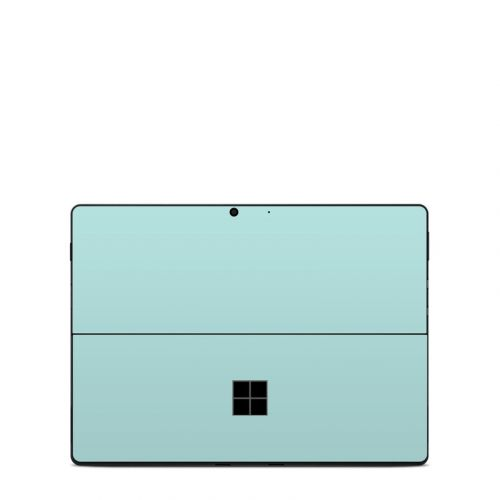 Solid State Mint Microsoft Surface Pro X Skin