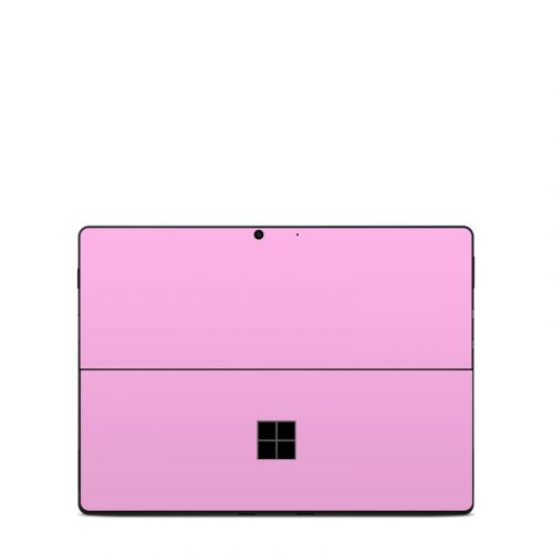 Solid State Pink Microsoft Surface Pro X Skin