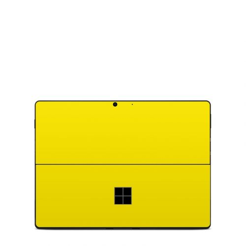 Solid State Yellow Microsoft Surface Pro X Skin