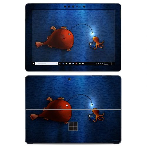 Angler Fish Microsoft Surface Go Skin