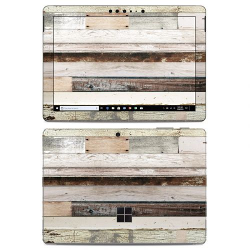 Eclectic Wood Microsoft Surface Go Skin