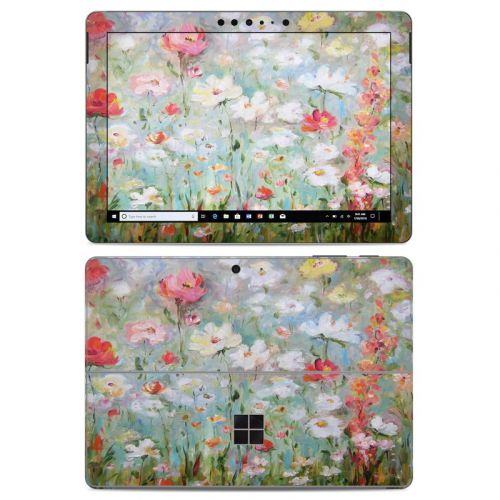 Flower Blooms Microsoft Surface Go Skin