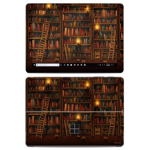 Library Microsoft Surface Go Skin