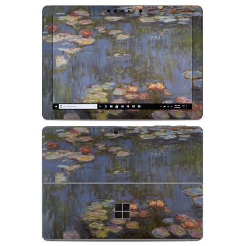 Water lilies Microsoft Surface Go Skin