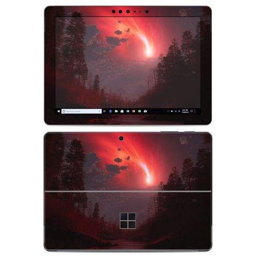 Red Harbinger Microsoft Surface Go Skin
