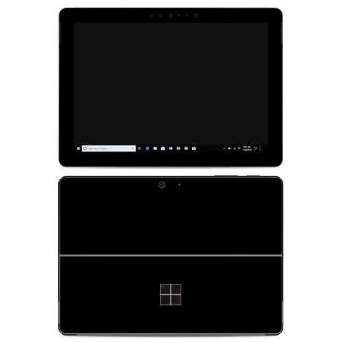 Solid State Black Microsoft Surface Go Skin