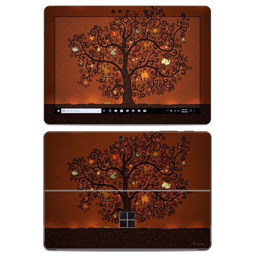 Tree Of Books Microsoft Surface Go Skin