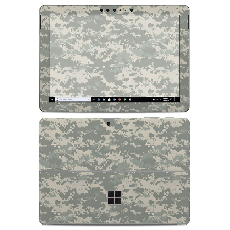 Microsoft Surface Go Skin design of Military camouflage, Green, Pattern, Uniform, Camouflage