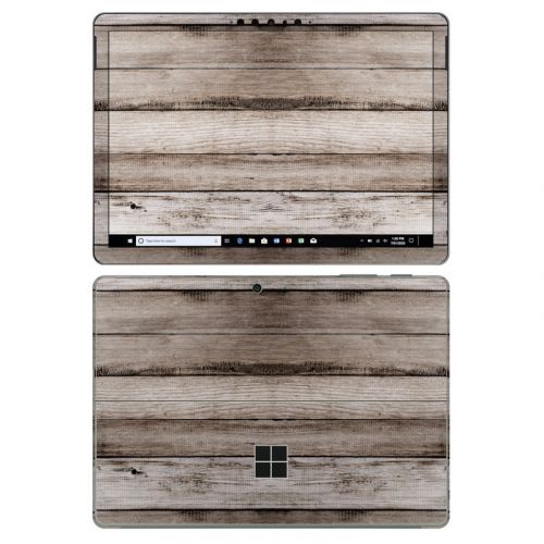 Barn Wood Microsoft Surface Go 2 Skin