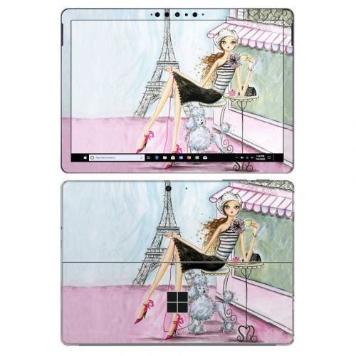 Cafe Paris Microsoft Surface Go 2 Skin