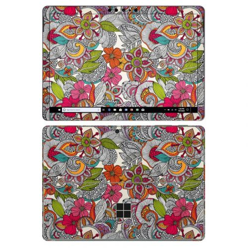 Doodles Color Microsoft Surface Go 2 Skin