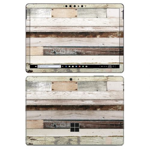 Eclectic Wood Microsoft Surface Go 2 Skin