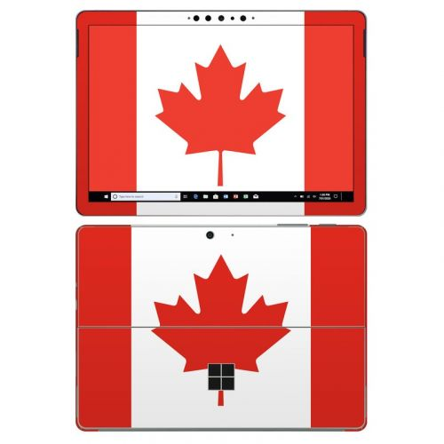 Canadian Flag Microsoft Surface Go 2 Skin
