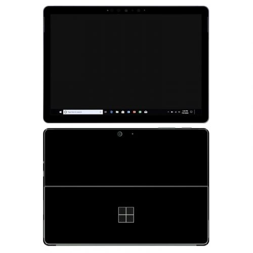 Solid State Black Microsoft Surface Go 2 Skin