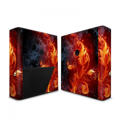 Flower Of Fire Xbox 360 E Skin