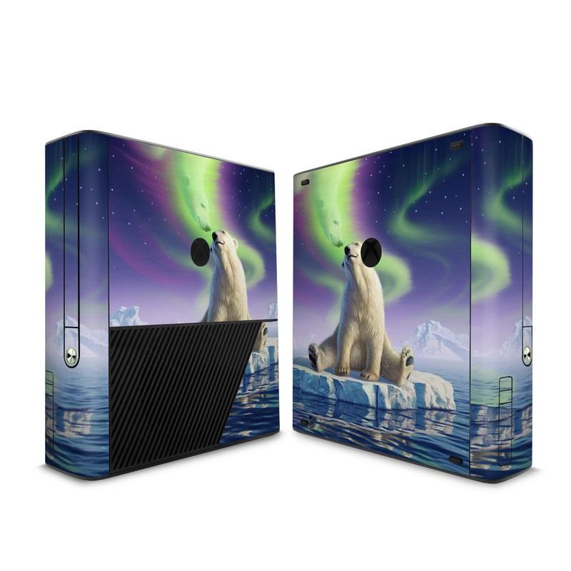 Arctic Kiss Xbox 360 E Skin