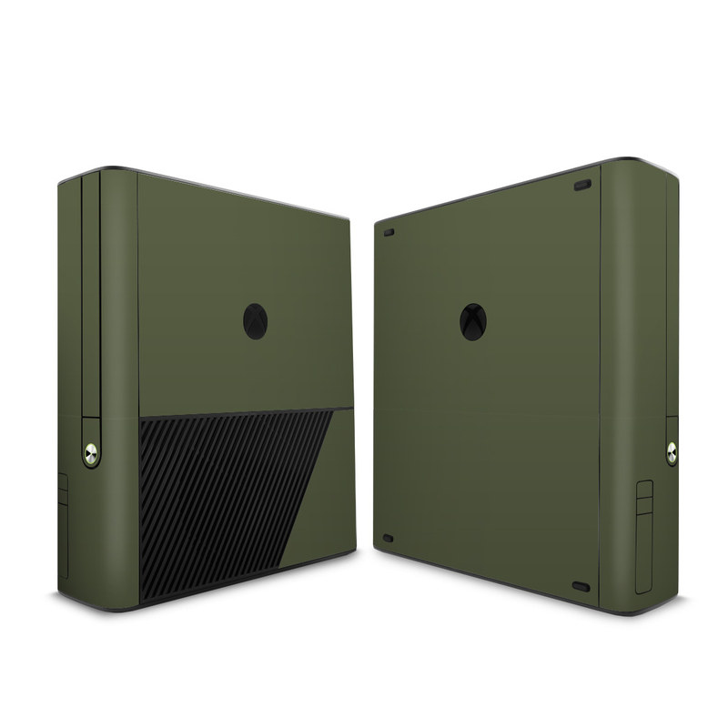 Solid State Olive Drab Xbox 360 E Skin