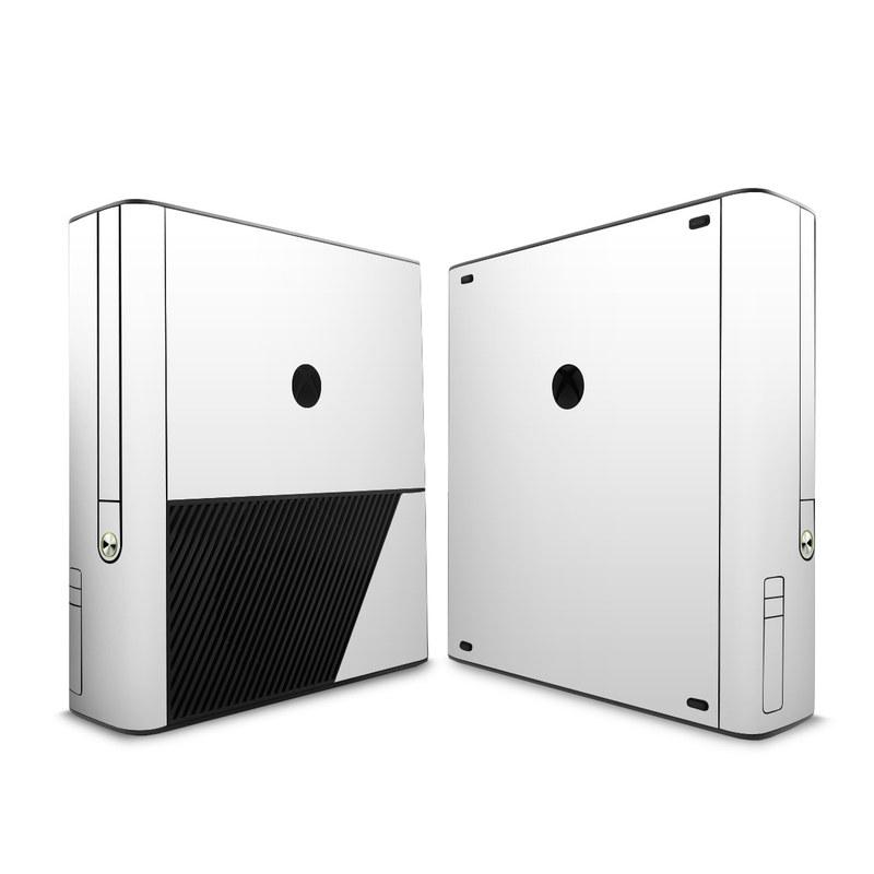 Solid State White Xbox 360 E Skin