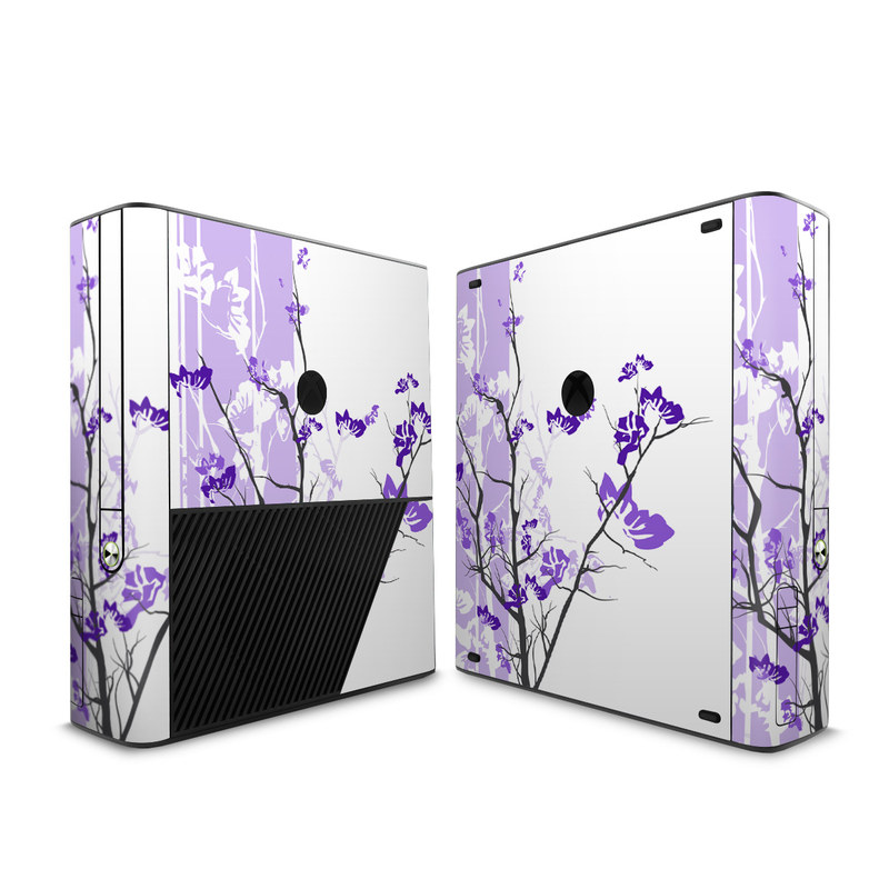 Violet Tranquility Xbox 360 E Skin