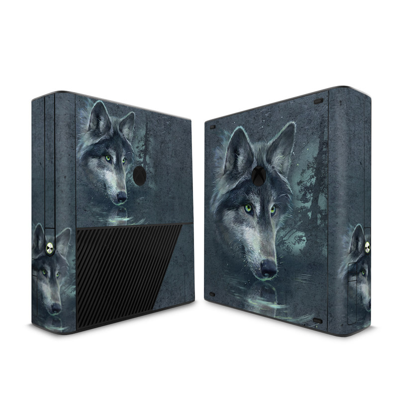 Wolf Reflection Xbox 360 E Skin