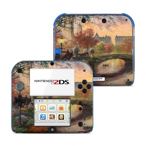 Autumn in New York Nintendo 2DS Skin